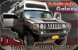 Click to Book Online - The Galaxy H2 Double Decker or Triple Axle H2 Hummer JET DOOR limo New York Up to 24 Passengers panoramic view windows ... & Hummer H2 with Jet Door Wedding Escalade limo Sweet 16 Pink Hummer ...