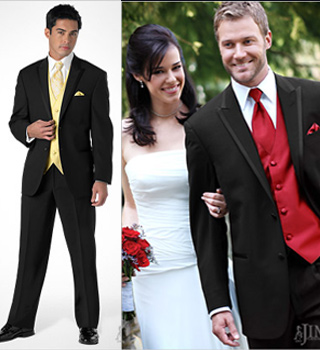 Arden Black Tuxedo For Wedding